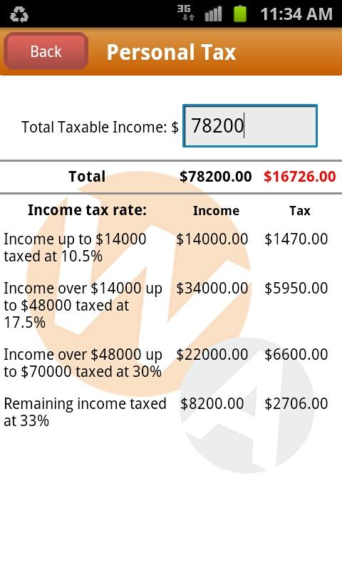 Tax Toolbox - screenshot