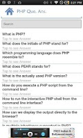 Screenshot of PHP Interview Questions