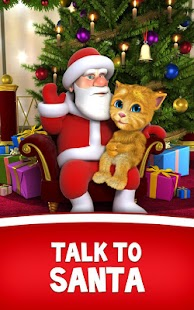 Talking Santa meets Ginger- screenshot thumbnail