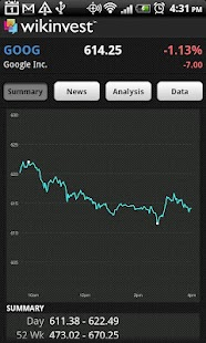 Wikinvest Portfolio (Ad-Free) - screenshot thumbnail