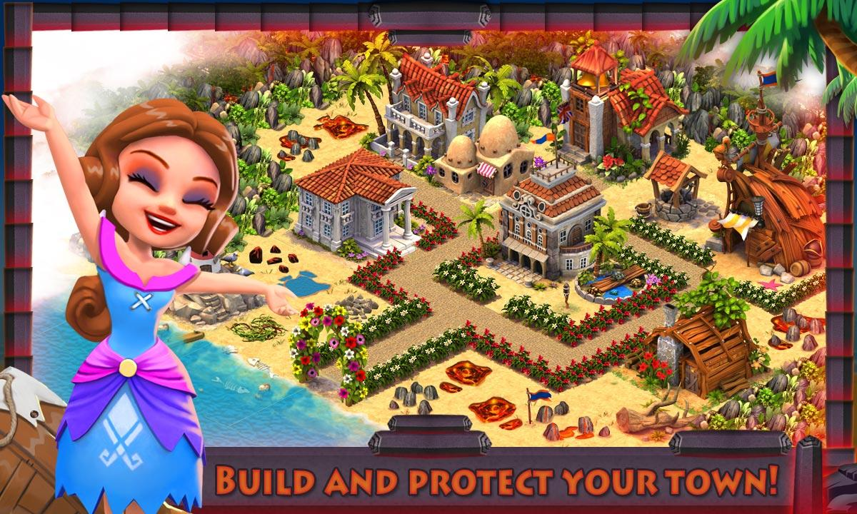 Volcano Island:Tropical Ranch!- screenshot