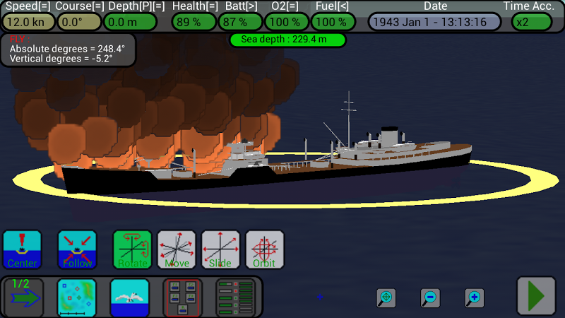 U-Boat Simulator Screenshot 1