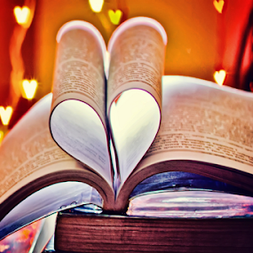 heart by Pravin Dabhade - Artistic Objects Other Objects ( canon, books, heart, still life, artistic )