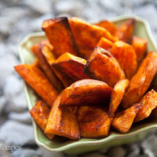 Oven Baked Sweet Potato Fries.