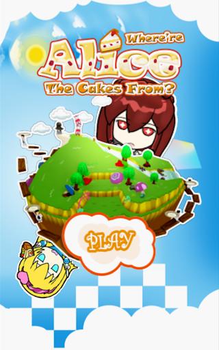不思議のケーキのアリス