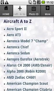 Aircraft Guide civil aircraft - screenshot thumbnail