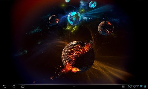 Deep Space 3D Pro lwp Screenshot 14