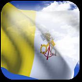 3D Vatican Flag