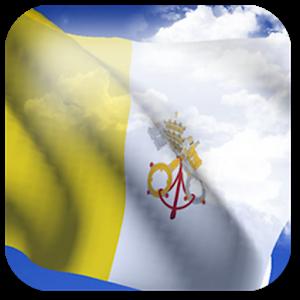 3D Vatican Flag +