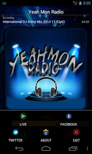 Yeah Mon Radio- screenshot thumbnail
