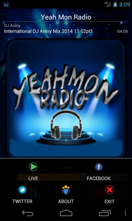Yeah Mon Radio- screenshot