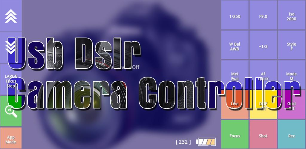 Download USB DSLR Camera Controller APK latest version app for android  devices