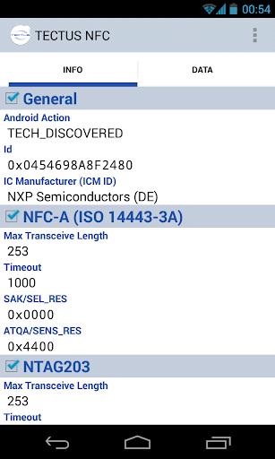TECTUS NFC