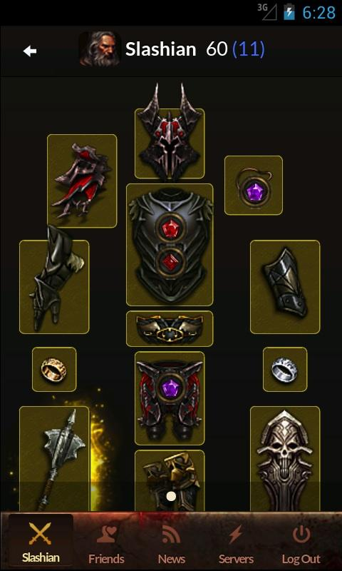 Diablo 3 Mobile Companion - screenshot