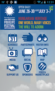 Smithsonian Folklife Festival - screenshot thumbnail