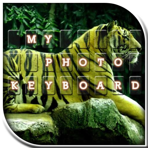 生活の自分の写真のキーボード LOGO-HotApp4Game