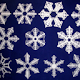 Custom 3D Printed Snowflakes