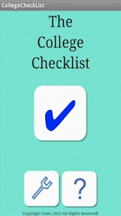 The College Checklist- screenshot thumbnail