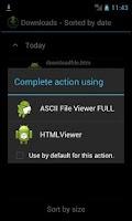 Screenshot of ASCII File Viewer FREE