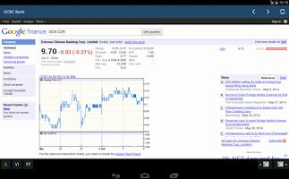 Screenshot of Singapore (SG) Stocks