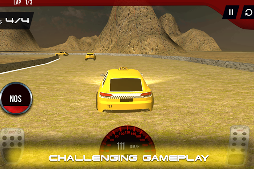 Speedy Cab Racer - Countryside