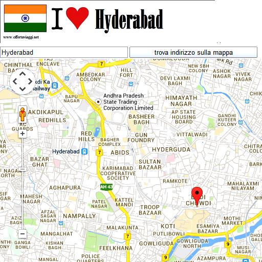 Hyderabad maps