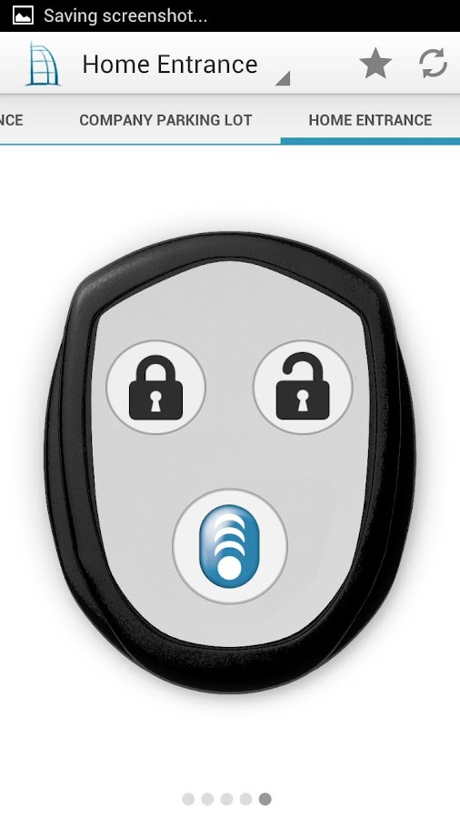 BlueID - your digital key - screenshot