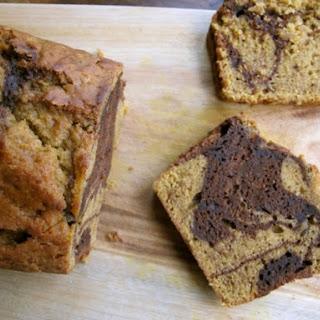 Marble Pumpkin Chocolate Bread