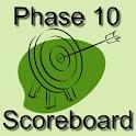Phase 10 Scoreboard logo