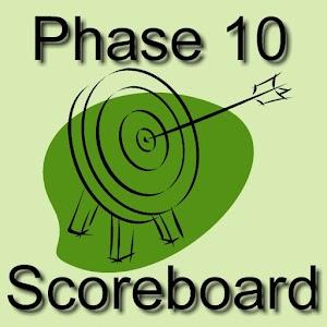 Phase 10 Scoreboard 紙牌 App LOGO-APP試玩