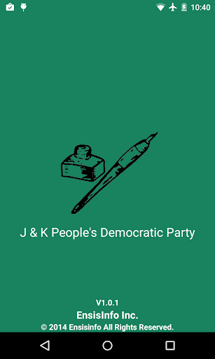 J K Peoples Democratic Party