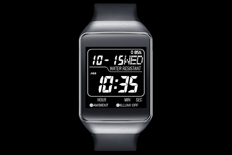 A06 WatchFace for Android Wear - náhled