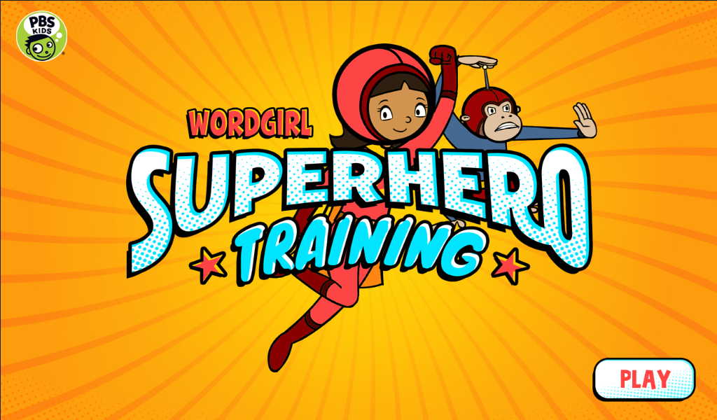 WordGirl Superhero Training - screenshot