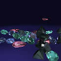 Gems 3d Live Wallpaper icon