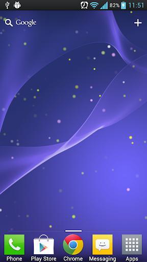 Xperia Z 2免費動態桌布