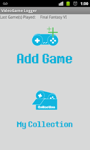 VideoGame Logger - screenshot thumbnail