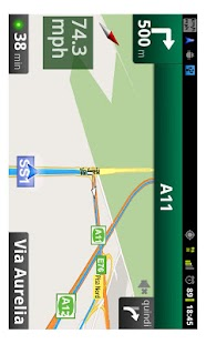 Speedometer for navigator free- screenshot thumbnail