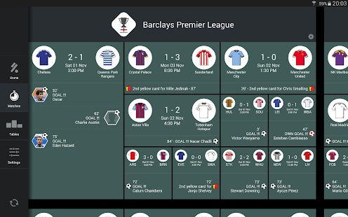 KICK - Football Scores & Stats - screenshot thumbnail