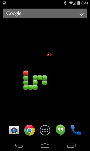 Retro Snake Game LiveWallpaper