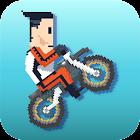 Retro Rider - Jumpy Bike Race icon