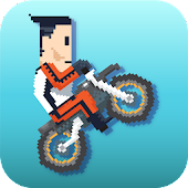 Retro Rider - Jumpy Bike Race