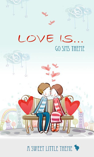 Love Is Theme SMS
