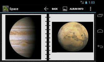 Screenshot of GT Photo Albums 3D