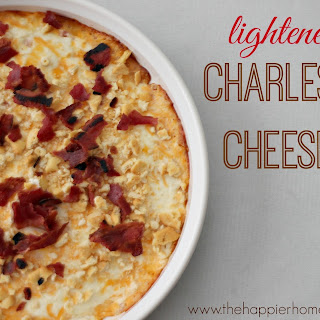 Lightened Up Charleston Cheese Dip