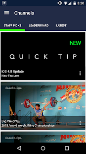 Coach's Eye - screenshot thumbnail