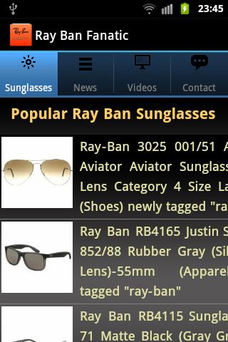Ray Ban Fanatic