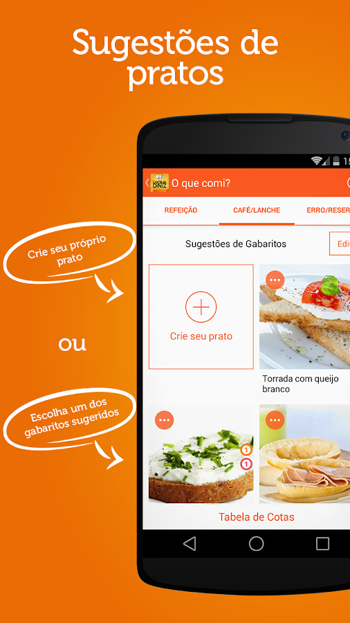 DayBook:Dieta de Lucilia Diniz- screenshot