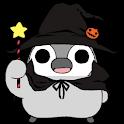 Pesoguin LWP Halloween Free logo