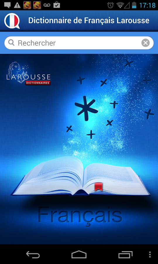 French Larousse dictionary - screenshot