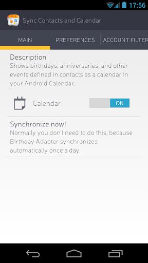 Sync Contacts Calendar